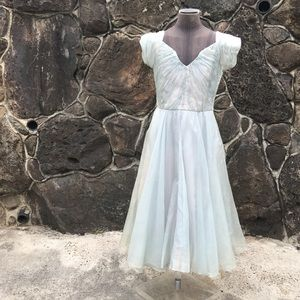 VINTAGE bespoke 50s Cinderella dress